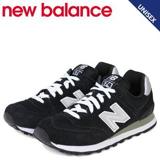 新平衡574男子的女子的new balance運動鞋M574NK D懷斯鞋黑色
