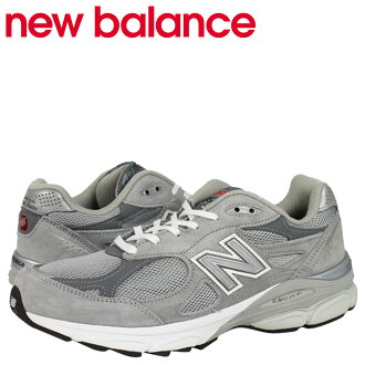 New balance new balance M990GL3 sneakers suede D wise men's suede