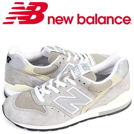 new balance M996 GY ニューバランス 996 スニーカー MADE IN USA Dワイズ メンズ 靴 グレー [予約 8月下旬 再入荷予定]