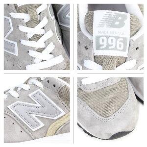 ニューバランスnewbalance996スニーカーMADEINUSAM996GYDワイズメンズ靴グレー[5/18追加入荷][175]