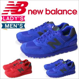 新平衡574男子的女子的new balance運動鞋WL574UWB WL574UWC B懷斯鞋紅藍色[12/17新進貨]