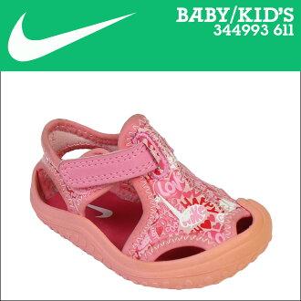 Nike 耐克嬰兒孩子新蕾保護 TD 涼鞋新蕾保護 344993-611 粉紅色 [8/7 新股票]