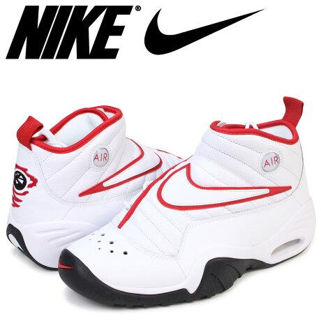 NIKE AIR SHAKE INDESTRUKT ナイキ エアシェイク スニーカー エア シェイク インデストラクト 880869-100 メンズ 靴 ブルズカラー ホワイト [189]