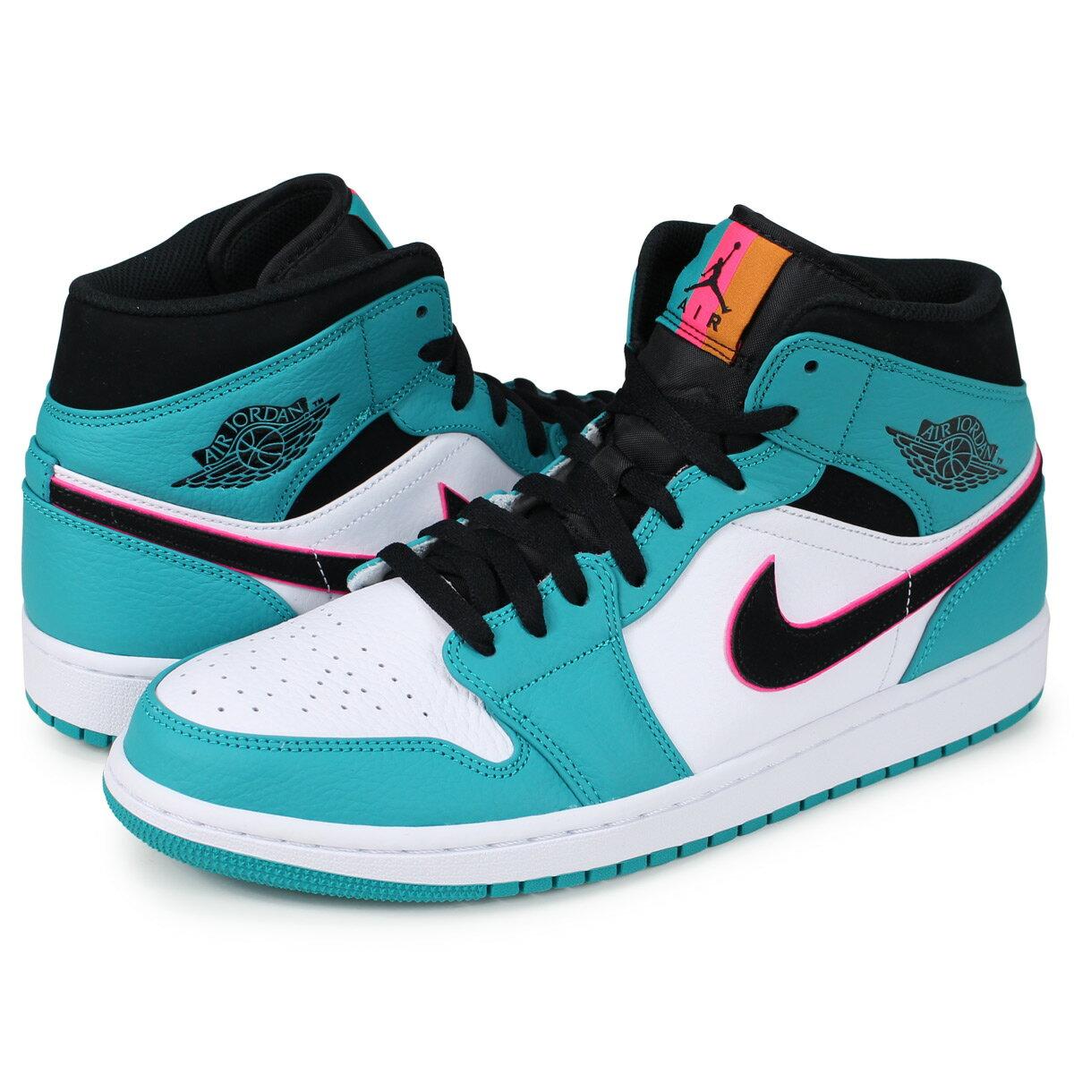 メンズ靴, スニーカー  NIKE 1 AIR JORDAN 1 MID SE SOUTH BEACH 852542-306