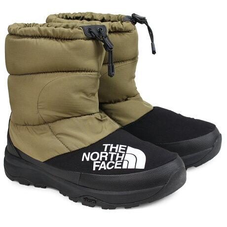 ノースフェイス THE NORTH FACE ヌプシダウンブーティ ブーツ メンズ NUPTSE DOWN BOOTIE カーキ NF51877 [予約商品 12/28頃入荷予定 新入荷]