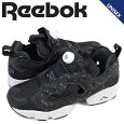 ReebokリーボックポンプフューリースニーカーINSTAPUMPFURYSPAQ9803メンズレディース靴ブラック