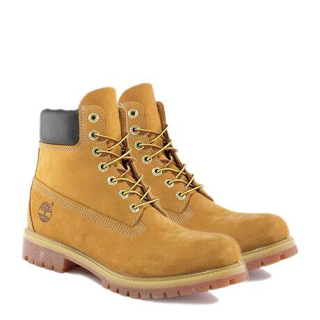 Timberland MENS 6-INCH PREMIUM WATERPROOF BOOTS ティンバーランド ブーツ メンズ 6インチ イエロー 10061 [12/27 追加入荷]