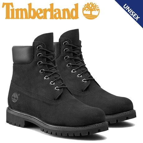 Timberland 6INCH PREMIUM WATERPROOF BOOTS ティンバーランド ブーツ メンズ レディース 6インチ プレミアム ウォータープルーフ 防水 ブラック 10073 [12/19 追加入荷]