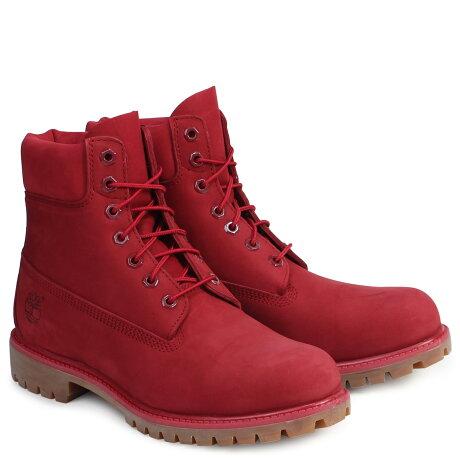 ティンバーランド ブーツ メンズ 6インチ Timberland 6INCH PREMIUM WATERPROOF BOOTS A1149 Wワイズ プレミアム 防水 レッド [12/27 追加入荷]