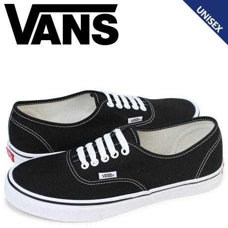 VANS AUTHENTIC バンズ オーセンティック メンズ スニーカー ヴァンズ VN-0EE3BLK 靴 ブラック [189]