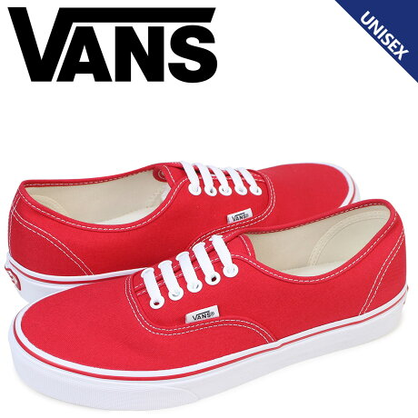 VANS AUTHENTIC オーセンティック スニーカー メンズ レディース バンズ ヴァンズ VN000EE3RED 靴 レッド [189]