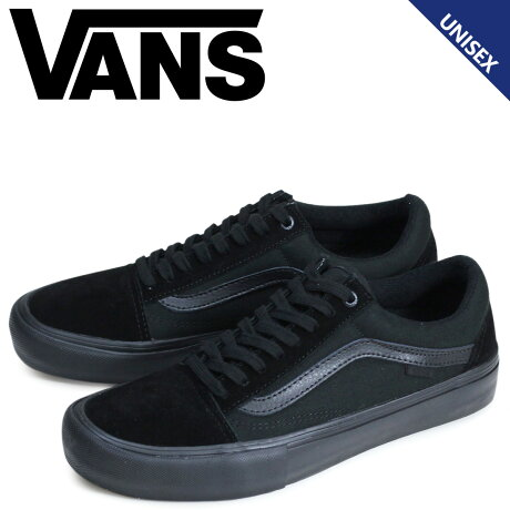 VANS OLD SKOOL PRO オールドスクール スニーカー メンズ レディース バンズ ヴァンズ VN000ZD41OJ 靴 ブラック [予約 9月下旬 再入荷予定]
