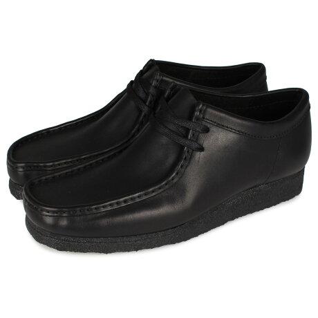 Clarks WALLABEE BOOT クラークス ワラビーブーツ メンズ ブラック 黒 26155514