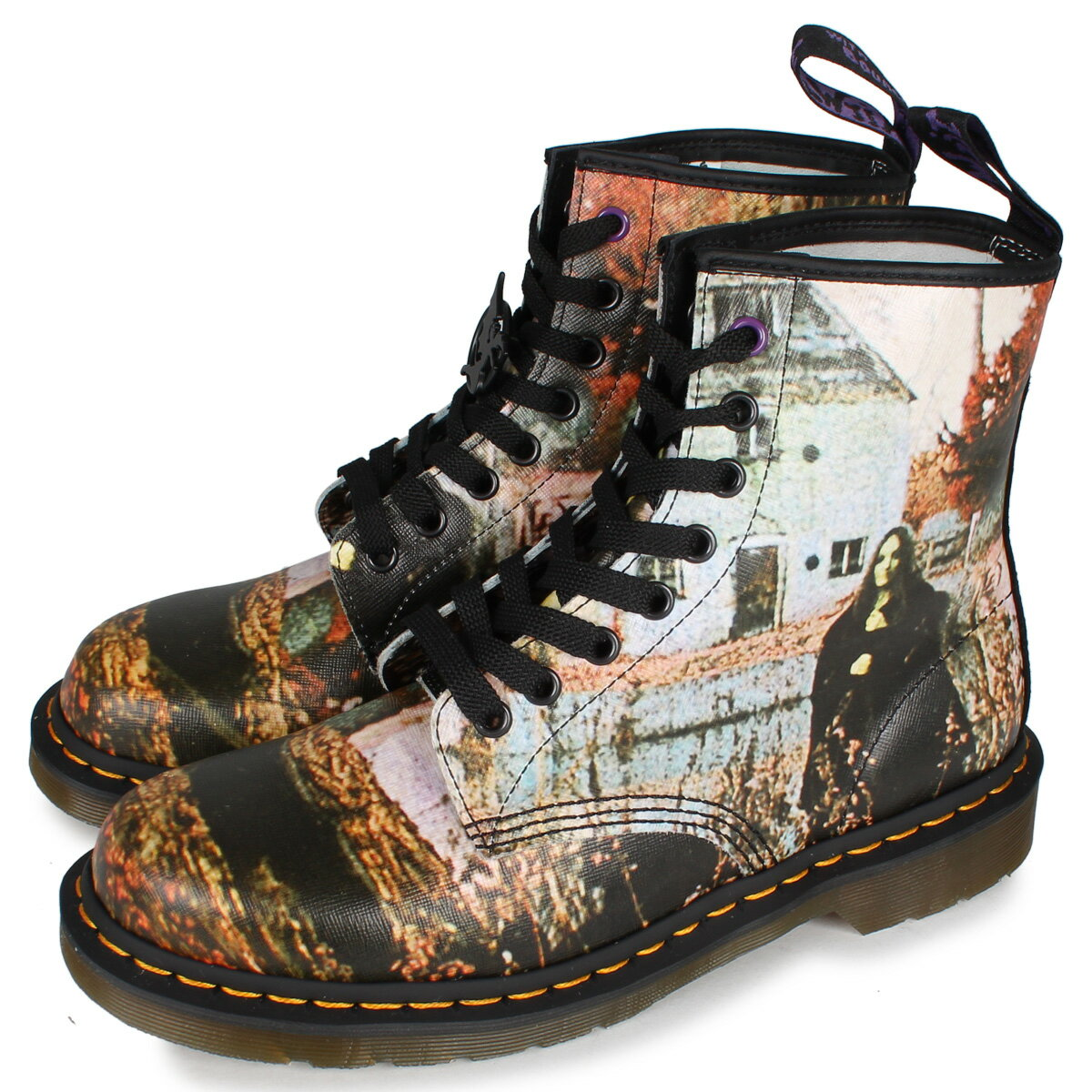 ブーツ, デザート Dr.Martens 1460 BLACK SABBATH 8 EYE BOOT 8 26315102