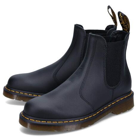 Dr.Martens 2976 NAPPA CHELSEA BOOT ドクターマーチン チェルシー ブーツ サイドゴア メンズ レディース ナッパ ブラック 黒 27100001 [予約 9月中旬 新入荷予定]