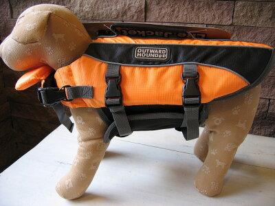 〜大きいダックスにも〜犬用・ペット用ライフジャケット(Sサイズ)OUTWARD HOUND製品あす楽対...