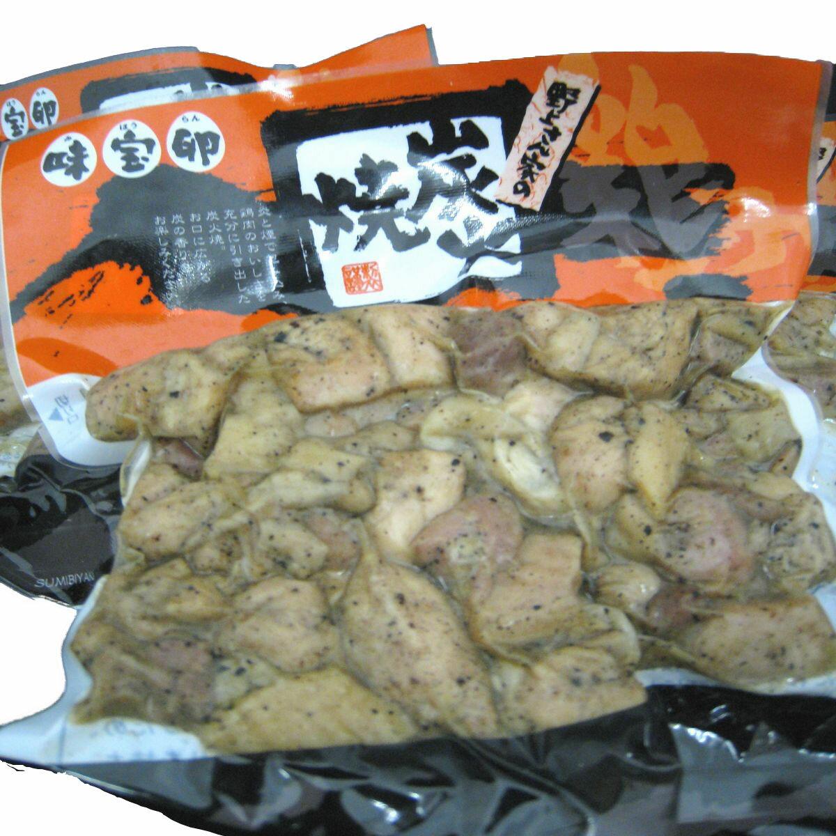 野上さん家の炭火焼 3パックセット 150g×3【炭火焼】【地鶏】【福岡】【肉】【とり】【鶏肉】