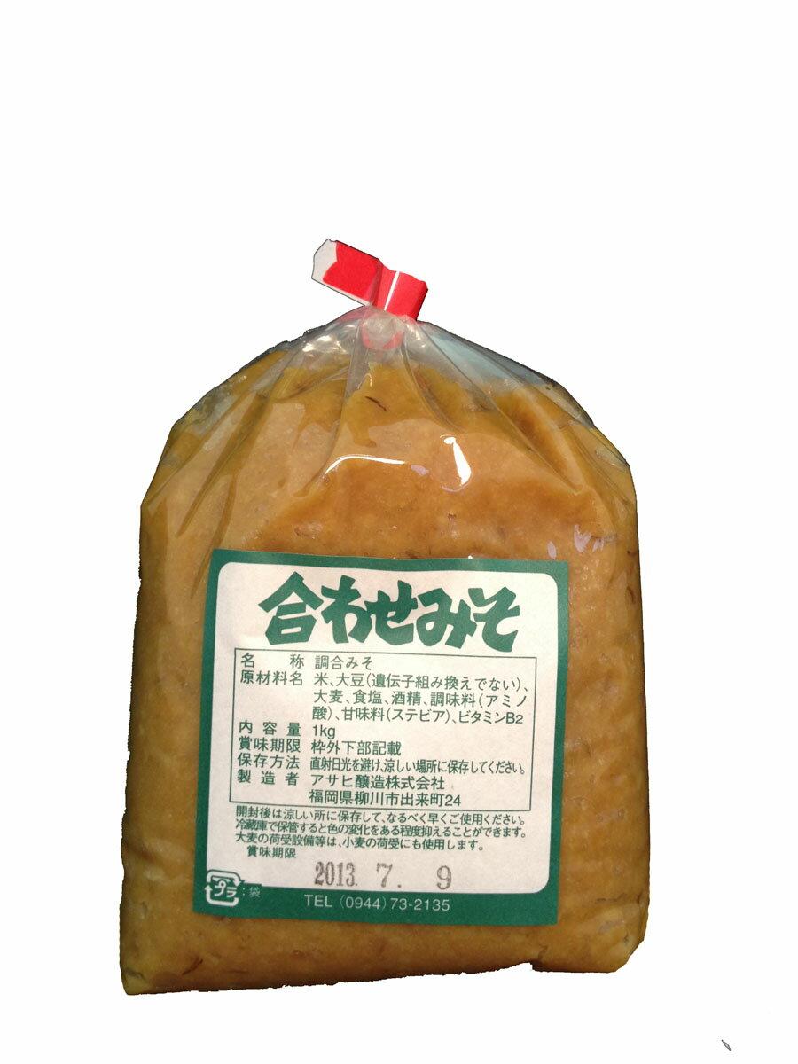 【アサヒ味噌】 合わせ味噌 1k 【九州産】