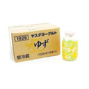 ヤスダヨーグルトすきっとゆず(150ml)×6本