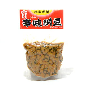 大力辛味納豆(100g)