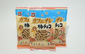 かわり種!元祖浪花屋のカフェオレ柿チョコ(95g×3袋)