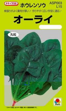 ホウレンソウ 種 【オーライ】 MF 25ml ( 種 野菜 野菜種子 野菜種 ) ★