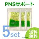 PMSサポート 5個セット natumedica 6000円→4920円 送料無料 (メール便) チェストツリー サプリ