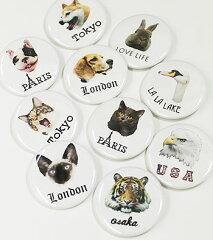 【エフィレボル/.efilevol】【2013春夏新作】Animal Badge アニマルバッジ