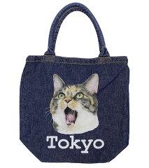 【エフィレボル/.efilevol】【2013春夏新作】Animal Denim Bag アニマルデニムバッグ