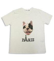 【あす楽】【エフィレボル/.efilevol】PARIS Dog Tee パリドッグTシャツ\8190