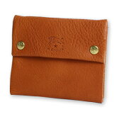【イルビゾンテ IL BISONTE 財布】二つボタンスクエアコインケース[No_5452404141]【送料無料】【あす楽対応】【財布 コインケース】