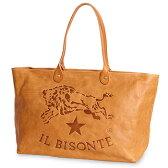 【イルビゾンテ IL BISONTE バッグ】ビッグロゴバケッタヴィンテージレザートート[商品番号_54162307414]【送料無料】【あす楽対応】【バッグ トートバッグ】
