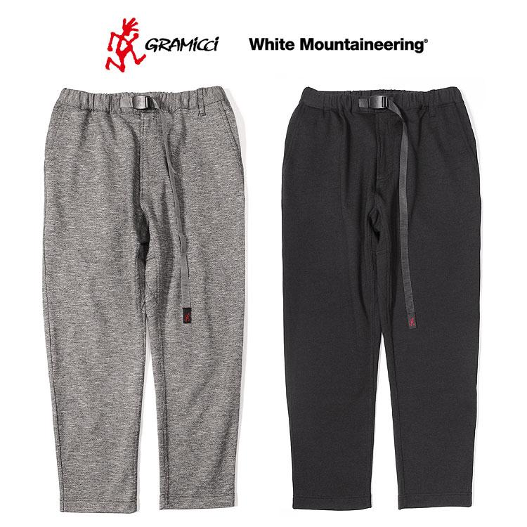 メンズファッション, ズボン・パンツ s20White MountaineeringWMGRAMICCI JERSEY SAROUEL PANTSWM2171412let
