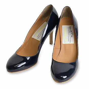 Round toe Pumps heel 75 ラウンドトゥパンプス[pp15s-bd11]【送料無...