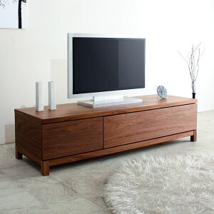 150cm TVボード [Alfonso] 天然木製 ウォールナット 【送料無料】 日本製 [野中木工所] 別注可 ...