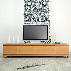180cm TVボード [Alfonso] 天然木製 オーク ナチュラル ホワイト ブラック 【送料無料】 日本製...