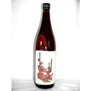 花札の梅酒 720ml 12度 [八木酒造 奈良県 梅酒 米焼酎ベース]
