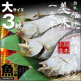 北海道(広尾産)宗八がれい 一夜干し 大サイズ 3枚