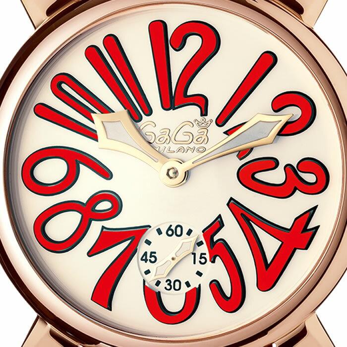 GaGa MILANO MANUALE 48MM GOLD PLATED/ガガミラノ マニュアーレ 48MM ゴールド 5011.10S 【国内正規品】【正規販売店】