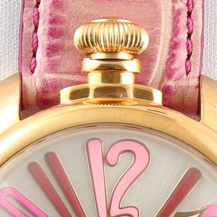 GaGa MILANO MANUALE 48MM GOLD PLATED/ガガミラノ マニュアーレ 48MM ゴールド 5011.09S 【国内正規品】【正規販売店】