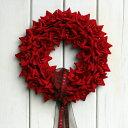 これはスグレモノ※うっとりするような真っ赤なバラ※レッドローズリースS (BOX付き)【アー...