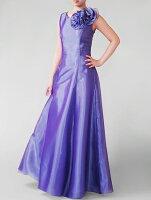 オーガンジーのノースリーブドレス、袖無しドレスです。