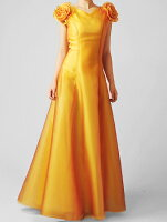 オーガンジーのノースリーブドレス、演奏衣装にどうぞ