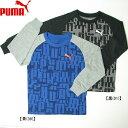 PUMA プーマアクティブスポーツラグラン長袖Tシャツ【キッズ】