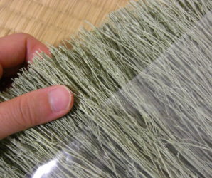手編みの座敷ほうき大