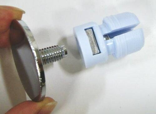 ロイヤルHバーエンダースチール25ミリ丸パイプに使用するエンドキャップ(単品)