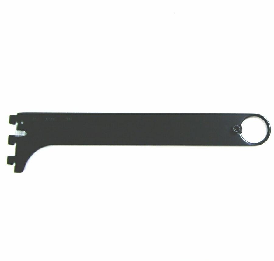 ロイヤル ハンガーブラケット(32ミリ 外々用) Aブラックハンガーパイプ受け 単品販売です。 呼び名300(実寸法310.5ミリ)3個まで一通のメール便可