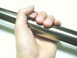 ステンレス巻きパイプ 太さ32ミリ1センチ単位で承ります。(15〜180センチの間でご注文ください...