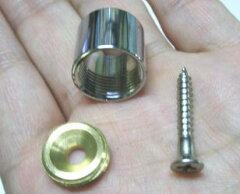 キャップソケット(ネジ式ソケット)13ミリ用 単品 設置後、パイプを取り外せるソケット♪