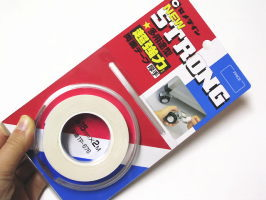 幅が狭い(15ミリ)超強力両面テープ